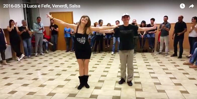 2016-05-13 Luca e Fefe, alcune differenze tra salsa portoricana e cubana (2 video)